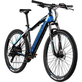 Zündapp Z801 650B E-Bike E Mountainbike MTB Hardtail schwarz/blau