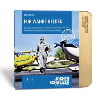 Jochen Schweizer Für Wahre Helden Geschenkbox mehrfarbig