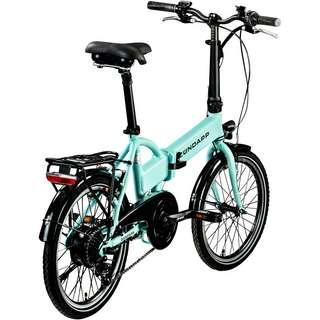 Zündapp Z101 20 Zoll E-Bike Klapprad E-Bike hellgrün
