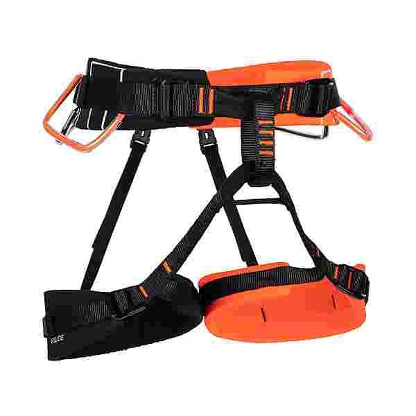 Mammut 4 Slide Klettergurt vibrant orange-black