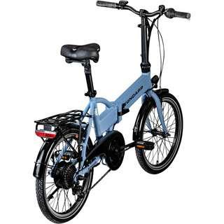 Zündapp Z101 20 Zoll E-Bike Klapprad E-Bike sky blau
