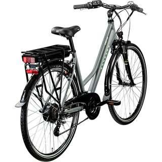 Zündapp Z802 Damen 700c E-Bike Trekking E-Bike Damen grau/grün