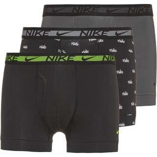 Nike Boxer Herren nike heritage print-dark grey-blck