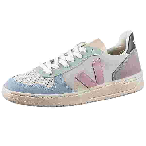 VEJA V-10 Sneaker Damen multico-natural-babe