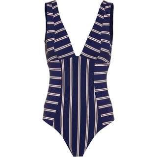 Roxy Moonlight Splash Badeanzug Damen mood indigo will stripes