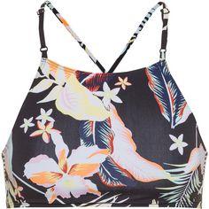 Roxy Beach Classic Bikini Oberteil Damen anthracite praslin