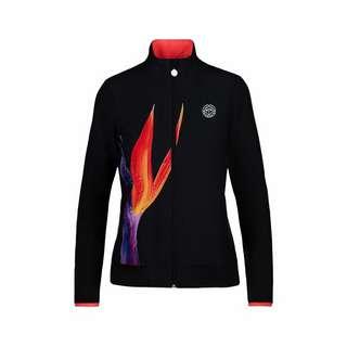 BIDI BADU Gene Tech Jacket Funktionsjacke Damen schwarz/rot