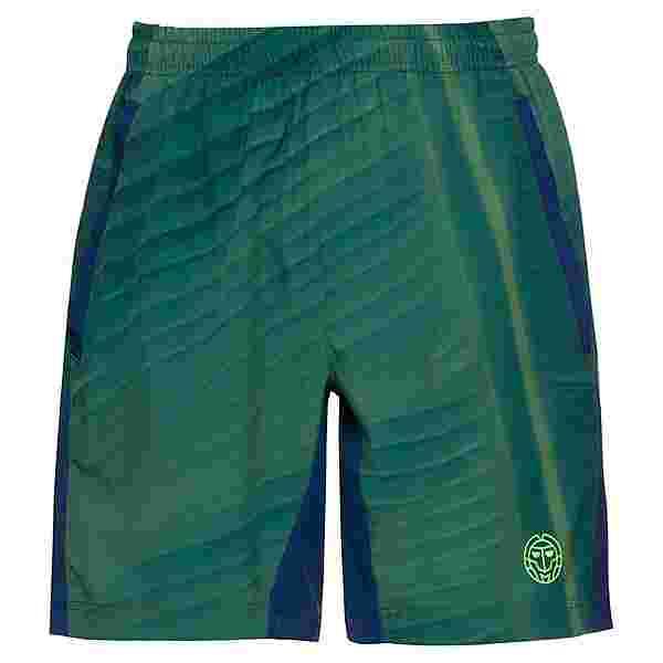 BIDI BADU Iras Tech Shorts Tennisshorts Herren dunkelgrün/dunkelblau