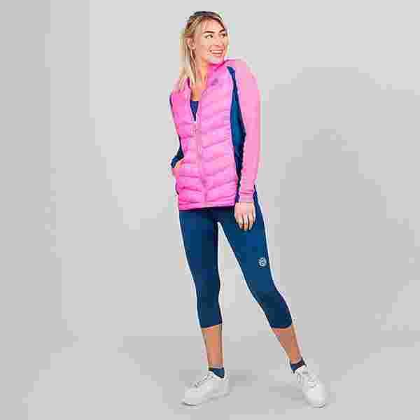 BIDI BADU Dania Tech Down Jacket Funktionsjacke Damen pink/dunkelbalu