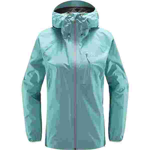 Haglöfs GORE-TEX L.I.M Jacket Hardshelljacke Damen Glacier green