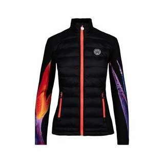 BIDI BADU Lee Tech Down Jacket Funktionsjacke Damen schwarz/rot