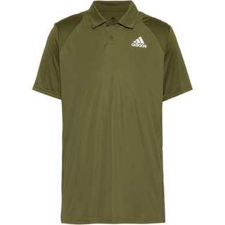 adidas Club Tennis Polo Herren wild pine-white