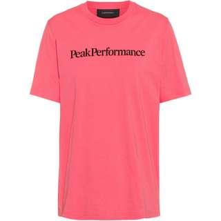 Peak Performance Original Seasonal T-Shirt Damen alpine flower