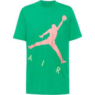 Nike Jumpman Air T-Shirt Herren stadium green-sunset pulse