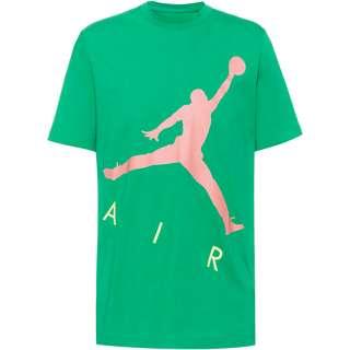 Nike Jumpman Air T-Shirt Herren stadium green-sunset pulse