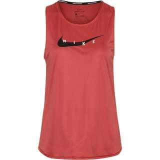Nike Swoosh Run Funktionstank Damen canyon rust/reflective silv