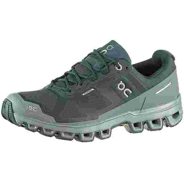 ON Cloudventure Waterproof Trailrunning Schuhe Damen juniper-sea