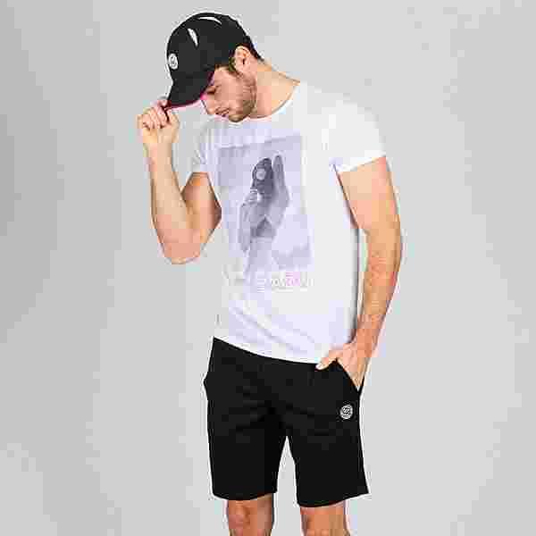 BIDI BADU Eyoel Lifestyle Tee Tennisshirt Herren weiß