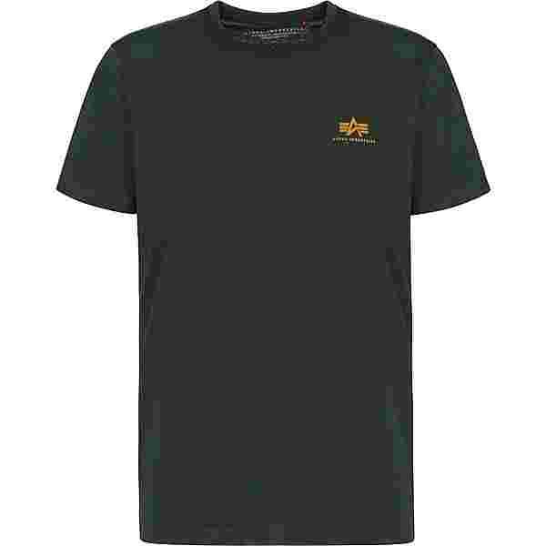 Alpha Industries Basic Small Logo T-Shirt Herren rot