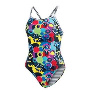 Dolfin Uglies V-2 Back Schwimmanzug Damen Global Grafitti