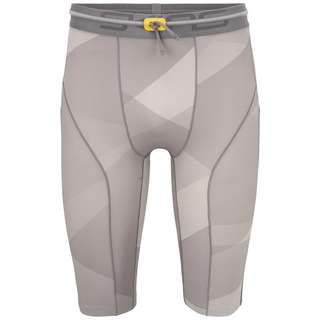 Skins S5 Half tights Tights Herren Grey Geo