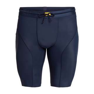 Skins S5 Half tights Tights Herren Navy Blue