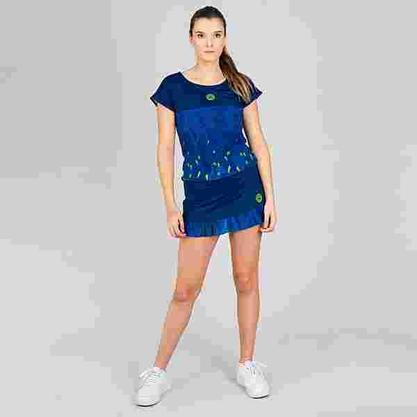 BIDI BADU Tijana Tech Mesh Tee Tennisshirt Damen dunkelblau