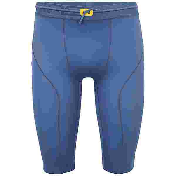 Skins S5 Half tights Tights Herren Blue