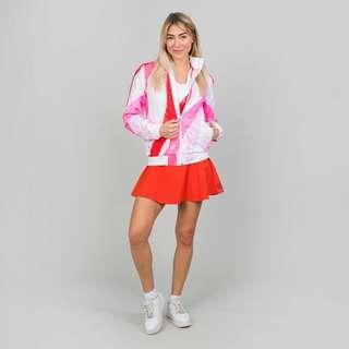 BIDI BADU Gene Tech Jacket Funktionsjacke Damen weiß/rot