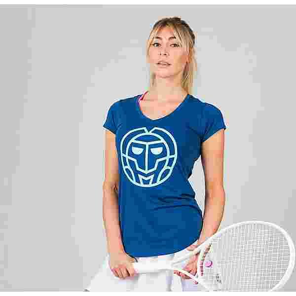 BIDI BADU Ulka Lifestyle Tee Tennisshirt Damen dunkelblau