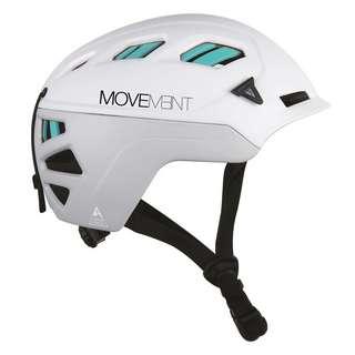 MOVEMENT 3TECH ALPI WOMEN Skitourenhelm Damen light grey/white/turquoise