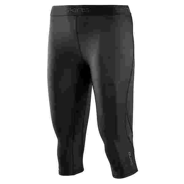 Skins DNAmic Capri Tights Tights Damen Black/Black
