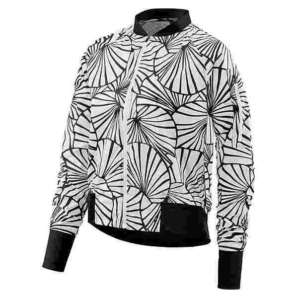 Skins Trylen Bomber Bomberjacke Damen Graphic Sunfeather Black&White