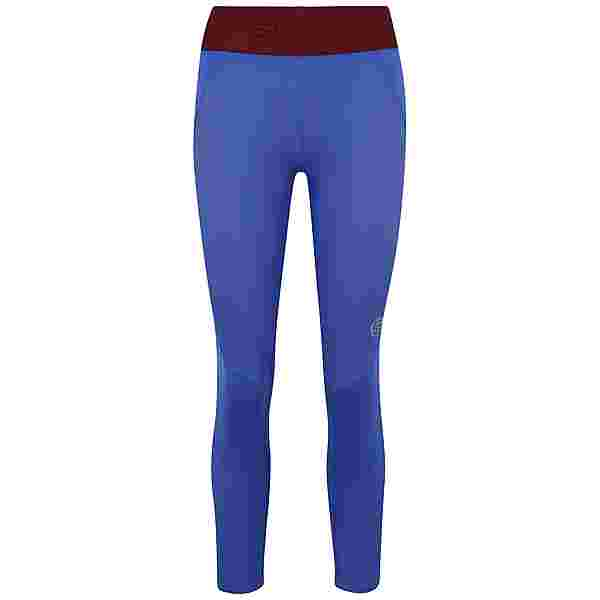 Skins S3 Long Tights Tights Damen Dazzling Blue