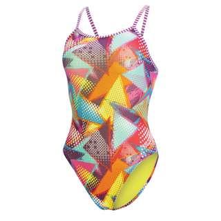 Dolfin Uglies Double Strap Back Schwimmanzug Damen Muse