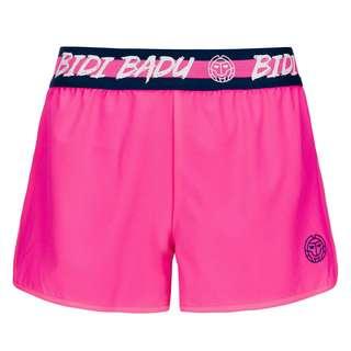 BIDI BADU Grey Tech Shorts (2 in 1) Tennisshorts Kinder pink/dunkelblau