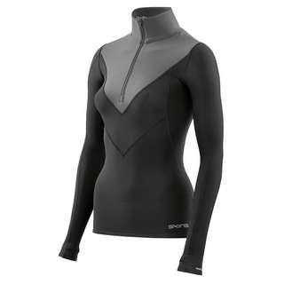 Skins DNAmic Thermal Longsleeve Funktionsshirt Damen Black/Charcoal