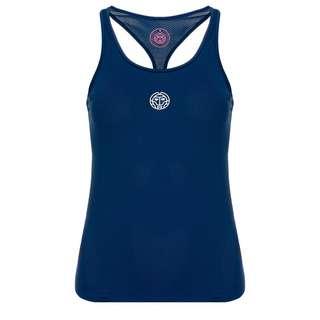 BIDI BADU Mea Tech Tank Tennisshirt Damen dunkelblau