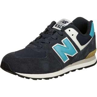 NEW BALANCE 574 Sneaker Kinder blau