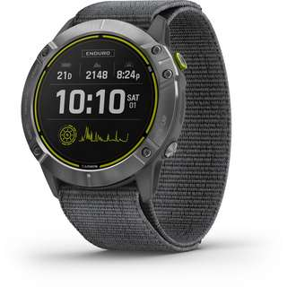 Garmin Enduro Smartwatch grau-silber