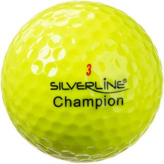 Silverline Golf Champion Golfball gelb