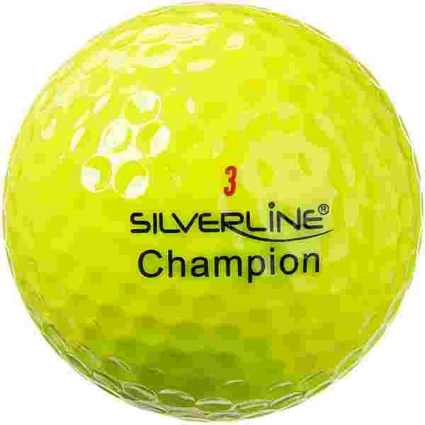 Silverline Golf Champion Golfball gelb