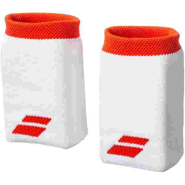 Babolat Jumbo Schweißband white-fiesta red