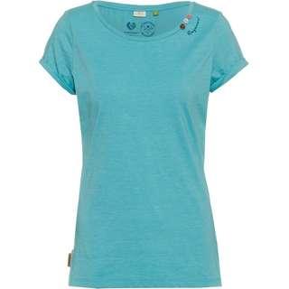 Ragwear Florah A Organic T-Shirt Damen aqua