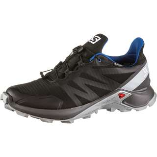 Salomon GTX Supercross Trailrunning Schuhe Herren black-magnet-quarry