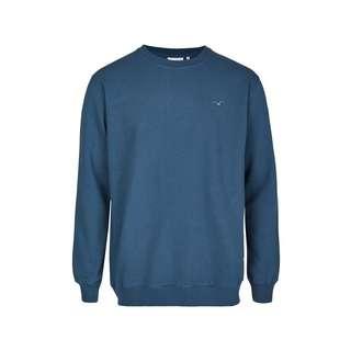 Cleptomanicx Ligull Heavy Sweatshirt Herren Blue Wing