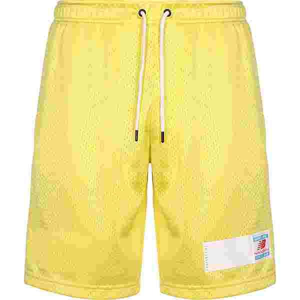 NEW BALANCE Essentials Mesh Shorts Herren gelb