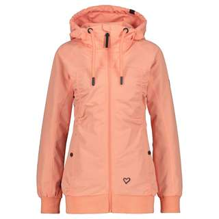 ALIFE AND KICKIN Black MambaAK Kurzjacke Damen peach