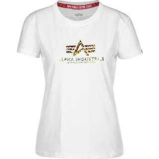 Alpha Industries New Basic T-Shirt Damen weiß