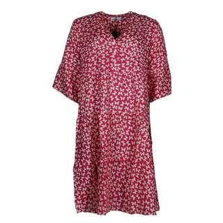 Zwillingsherz Kleid Schmetterling Minikleid Damen pink